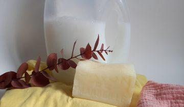 Soin du linge, recette de lessive écologique